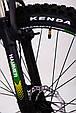 Горный велосипед на амортизации HAMMER ACTIVE 26-A211 Алюминиевая рама Сборка 85% Япония Shimano Двухподвес Зеленый, фото 8