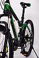 Горный велосипед на амортизации HAMMER ACTIVE 26-A211 Алюминиевая рама Сборка 85% Япония Shimano Двухподвес Зеленый, фото 4