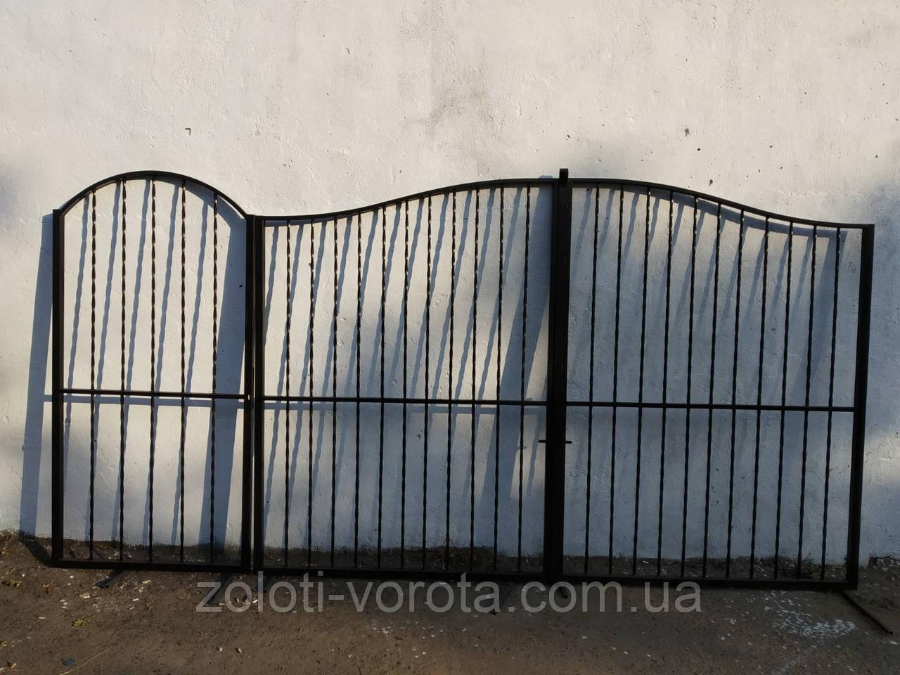 """Комплект ворота и калитка """"Эконом"""""""