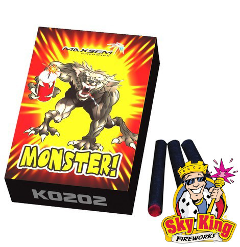Петарда корсар 2 K0202 Monster 20 шт.