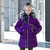 "Зимняя куртка для девочки + сумка ""Модница"""
