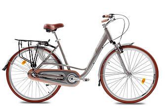 """Велосипед женский ARDIS CITY CTB 28"""" колесо 19"""" рама (Серый )на планетарной втулке"""