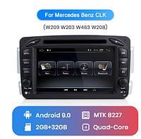 Junsun 4G Android магнитола для Mercedes Benz W203 CLK W209 W463 W208