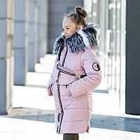 "Зимняя куртка для девочки + сумка ""Модница"", фото 1"