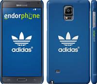"Чехол на Samsung Galaxy Note 4 N910H Adidas 5 ""999c-64"""