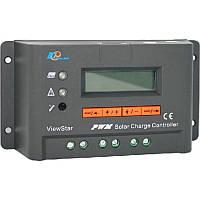 Программируемый фотоэлектрический контроллер заряда ViewStar VS2024BN (20А, 12/24Vauto, PWM, LCD)