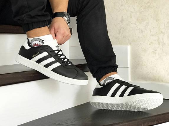 Мужские кроссовки прессованная кожа 8488 42, фото 2