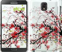 "Чехол на Samsung Galaxy Note 3 N9000 Цветущий куст ""831c-29"""