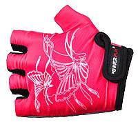 Велоперчатки PowerPlay 5477 Розовый, 4хс