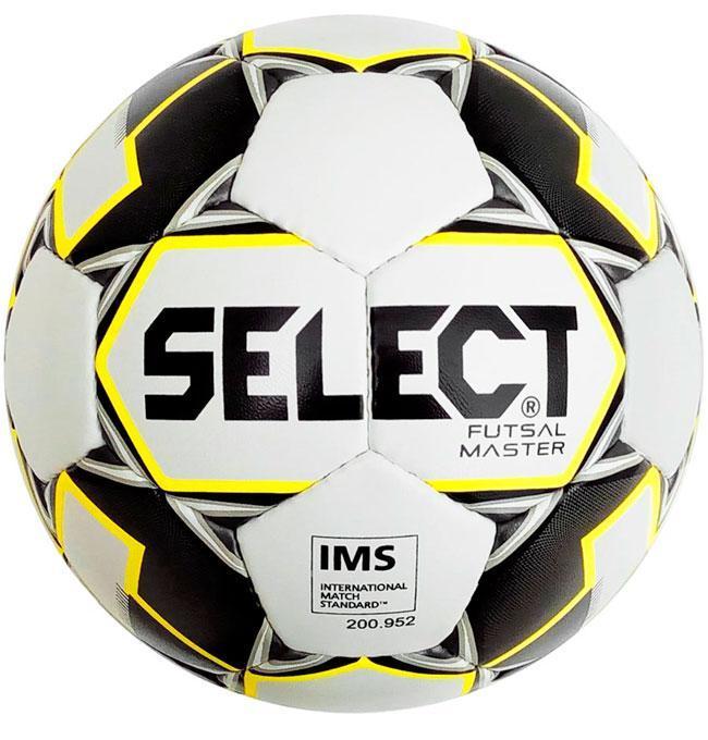 Мяч футзальный Select Master IMS Белый Размер 4 (5703543186990)