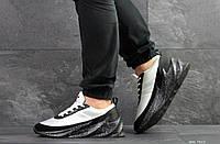 Мужские кроссовки в стиле Adidas Sharks, белые с черным 42 (27,2 см)