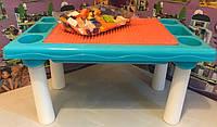 Детский игровой столик платформа для конструктора Aiyingle 669-15, для мелких деталей, 300 деталей