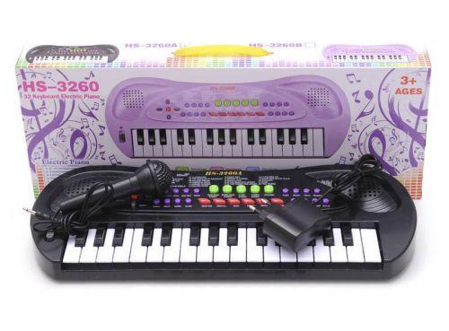 Пианино с микрофоном (32 клавиши)  scs