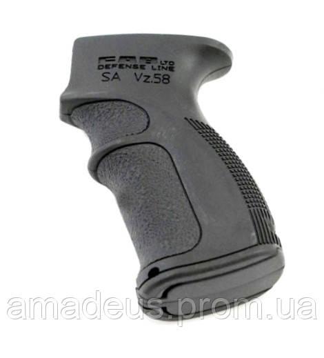 AG58B  Пистолетная рукоятка FAB для VZ 58, чорная