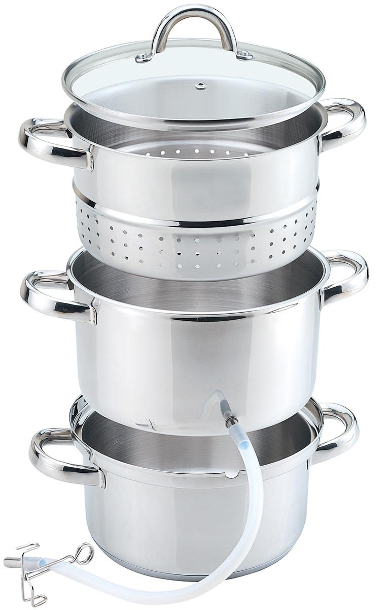 Соковарка Нержавіюча сталь Maestro MR-1030 на 8 л (654-5858-7)