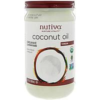Органическое кокосовое масло, Virgin, 680 мл, Nutiva