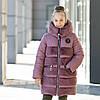 """Зимняя куртка- шубка для девочки """"Плюша"""""""