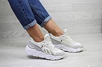 Женские кроссовки в стиле Balenciaga, замша, сетка, пена, бежевые 37 (23,5 см)