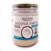 Органический продукт, Coconut Manna, кокос в виде пюре, 425 г, Nutiva