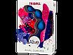 Анальные шарики Alive Triball Blue, фото 2