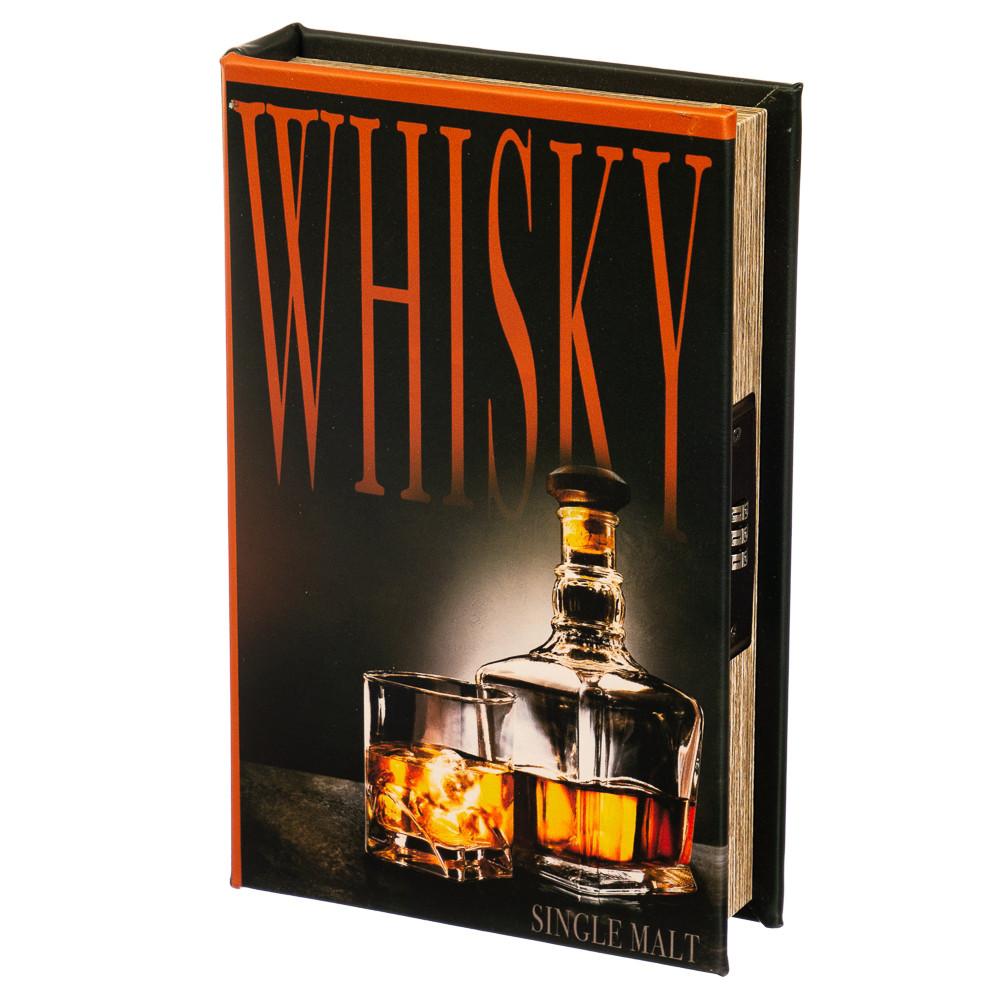 """Книга-сейф """"Виски"""" (кодовый замок) (26*17*5)"""