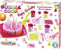 Набор посудки Ecoiffier С Днем Рождения 2613