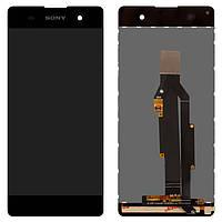 Дисплейный модуль (дисплей и сенсор) для Sony F3111 Xperia XA, F3112 Xperia XA Dual, F3113 Xperia XA, F3115 Xperia XA, F3116 Xperia XA Dual, серый,