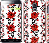 "Чехол на Samsung Galaxy S5 g900h Вышиванка 50 ""1724c-24"""