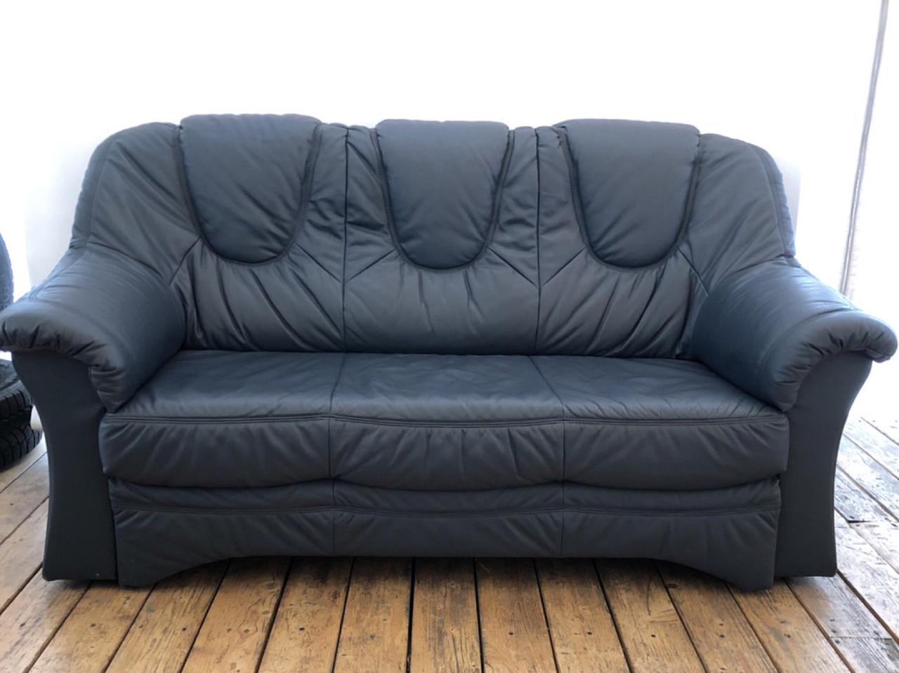 Кожаный Диван раскладной шкіряний диван «Монклер»