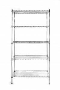 Стеллаж складской - 5 полок, 455x910x1840(H) мм