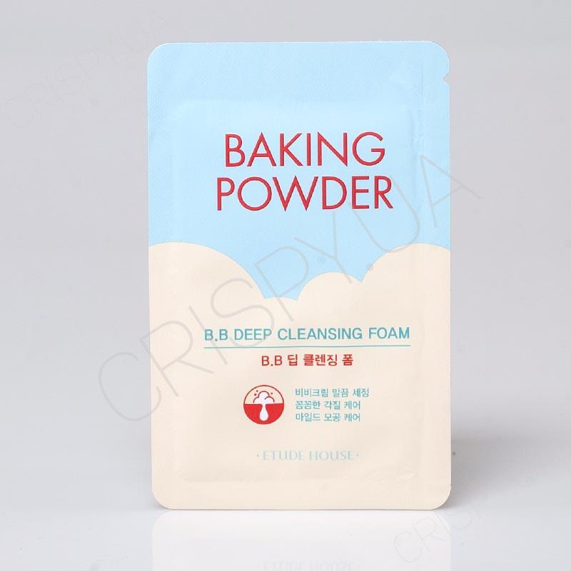 Пенка для очищения пор Etude House Baking Powder Pore Cleansing Foam