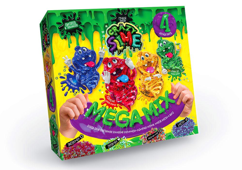 Ручной лизун Crazy Slime Mega Mix (SLM-03-01)