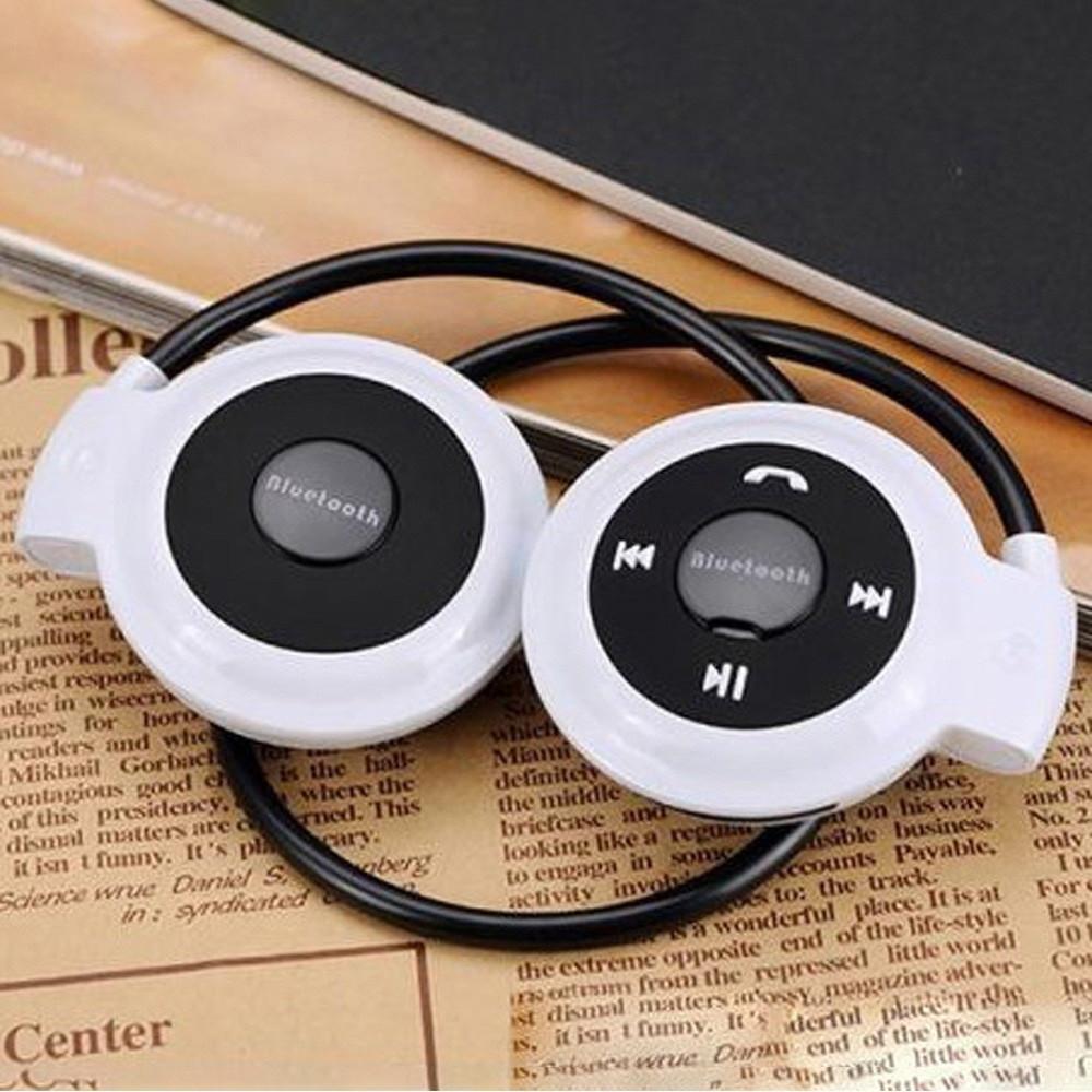Беспроводная гарнитура 3в1 bluetooth-наушники, MP3-плеер, FM радио (белый)