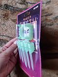 Салатові зуби для дітей + нігті 5шт., фото 2