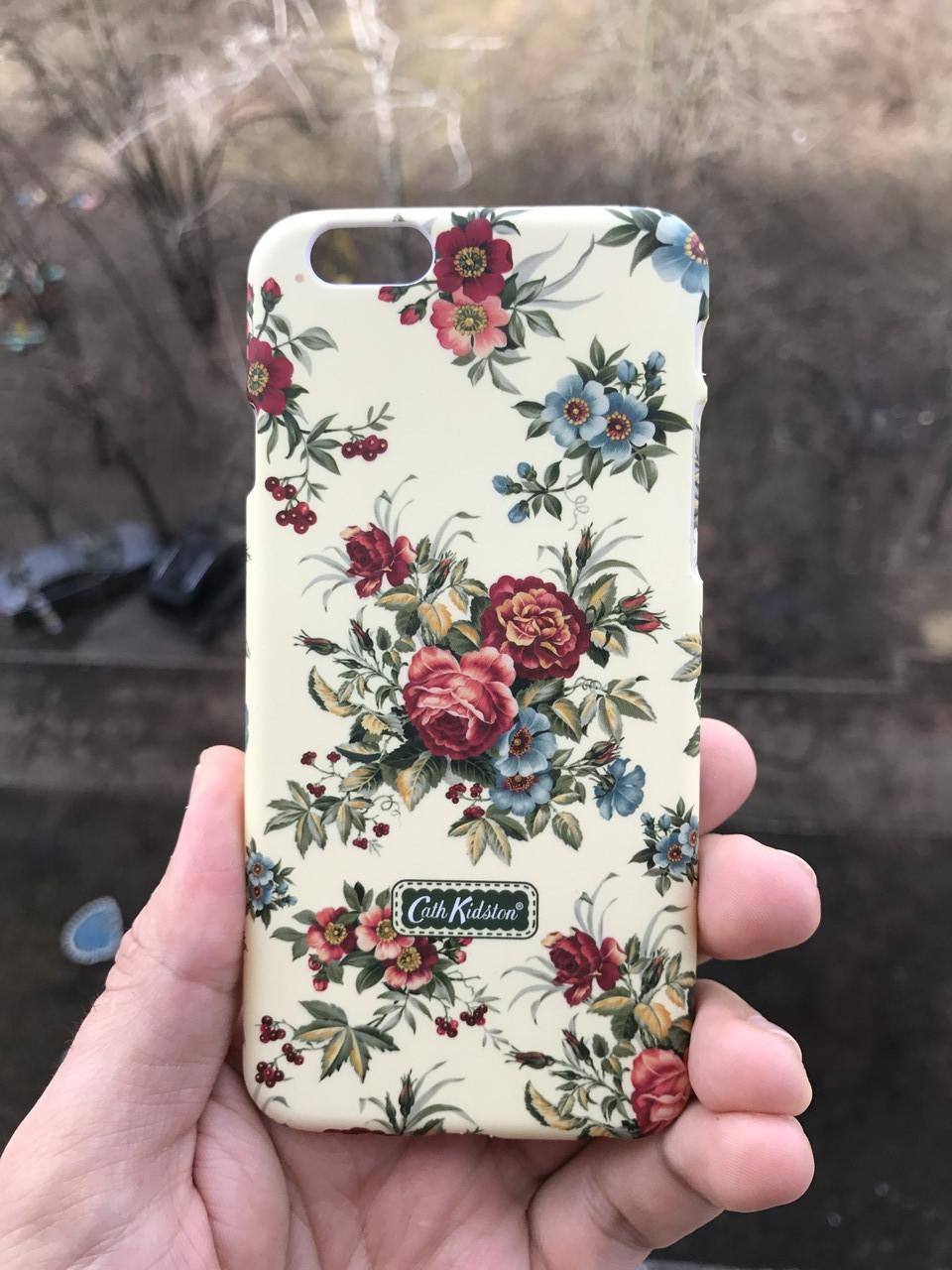 Чехол для iPhone 6\6s Cath Kidston Flowers + защитное стекло на экран в подарок