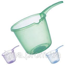 Ковш пластиковый 1,5л PT-83214 (35шт)