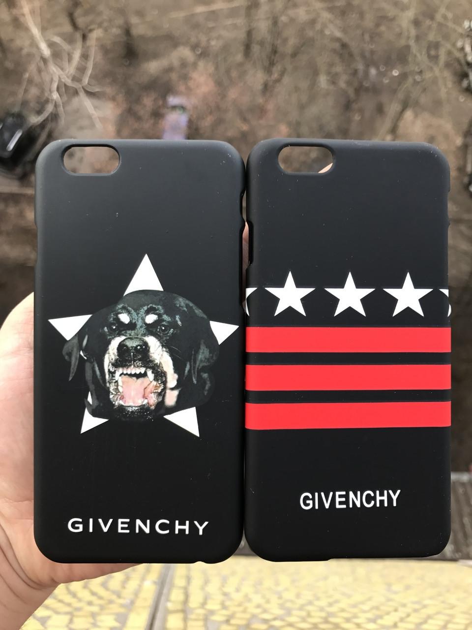 Чехол для iPhone 6\6s Givenchy  + защитное стекло на экран в подарок