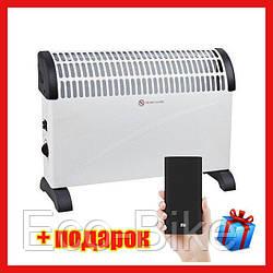 Конвектор обогреватель Domotec Heater MS-5904 дуйка 2000Вт конвектор електричний