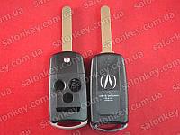 Acura выкидной ключ 3+1 кнопки корпус