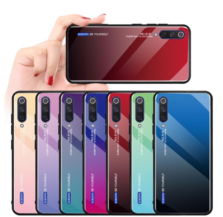 Чехол Gradient для Xiaomi Mi A3 (разные цвета)