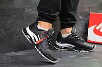 Мужские кроссовки в стиле Nike Air Max 2019 Black/White, черные 41 (26 см)