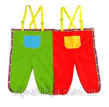 Подвійні дитячі штани від AKSON, анімаційні. Для змагань та естафет