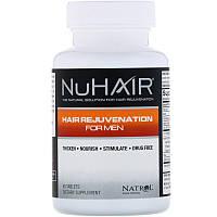 Восстановление волос для мужчин, Natrol, NuHair, 60 таблеток, фото 1
