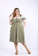 Легкое летнее платье в горох | 01171-1 GARRY-STAR