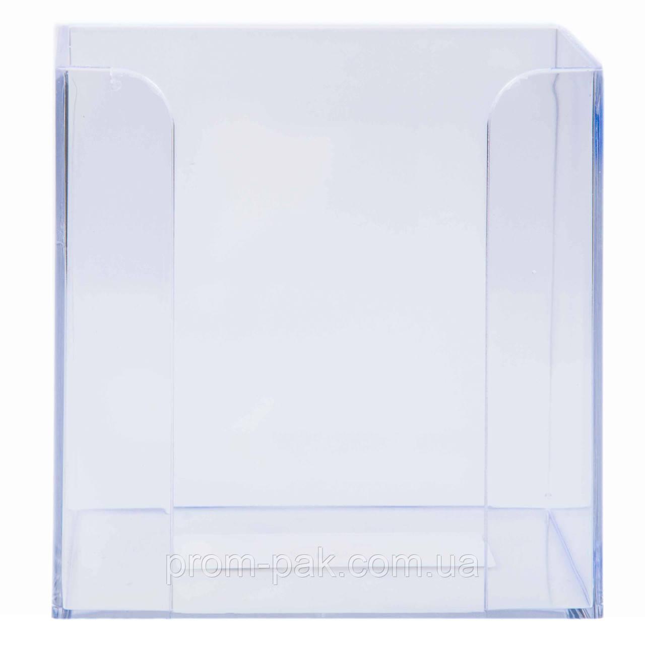 Куб без бумаг прозрачный
