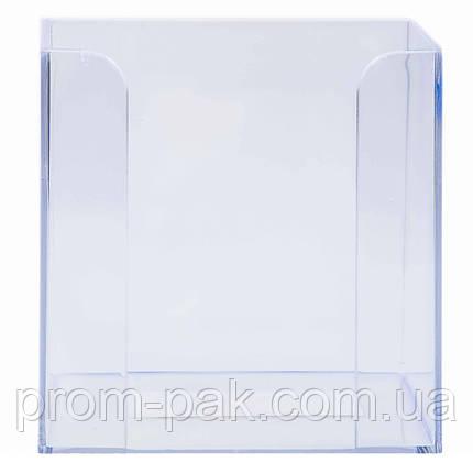Куб без бумаг прозрачный, фото 2