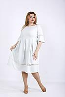 Легкое летнее платье шалфей | 01176-3 GARRY-STAR