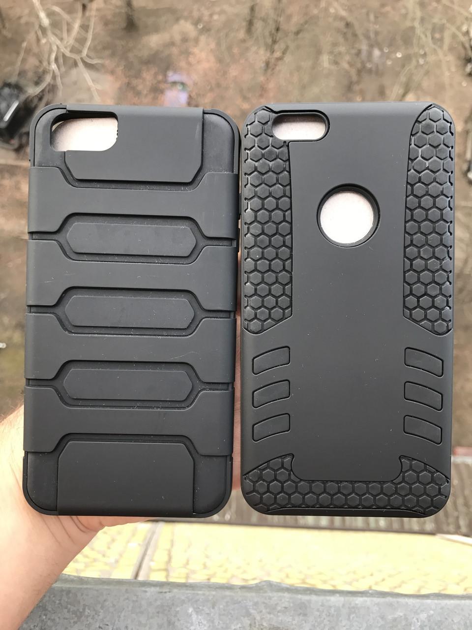 Чехол противоударный iphone 6/6s plus + защитное стекло на экран в подарок