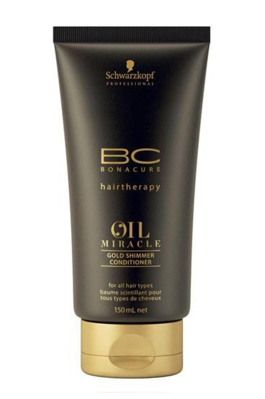 Кондиционер для сухих волос Schwarzkopf Professional ВС Bonacure Oil Miracle Gold Shimmer Conditioner