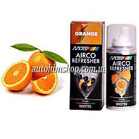 MOTIP Очиститель кондиционера Airco антибактериальный рециркуляционный с ароматом апельсина 150*мл